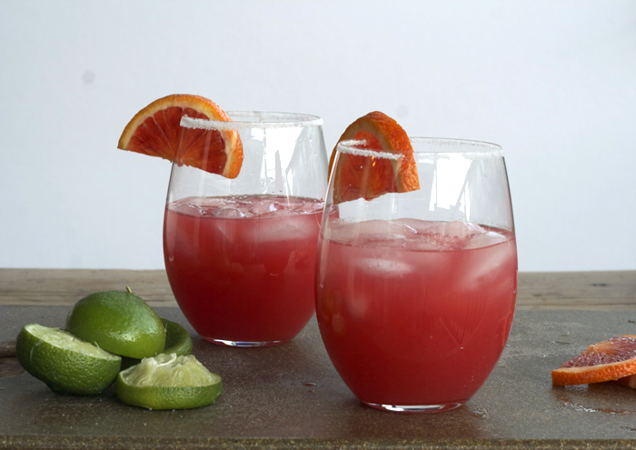 Blood Orange Margaritas | Plum Pie