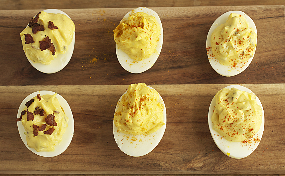Deviled Eggs Three Ways | Plum Pie