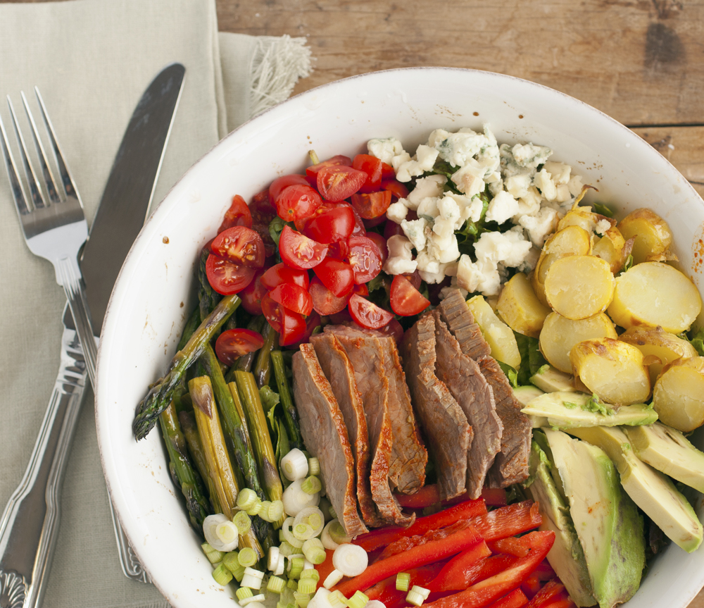 Flank Steak Salad | Plum Pie