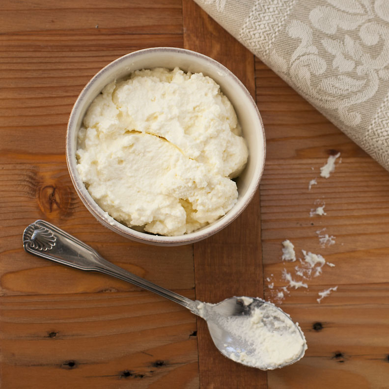 How To Make Ricotta Cheese Recipe — Dishmaps