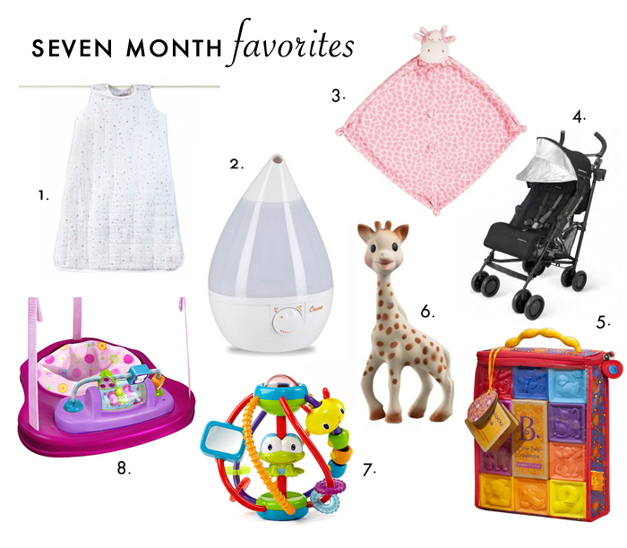 Seven Month Favorites