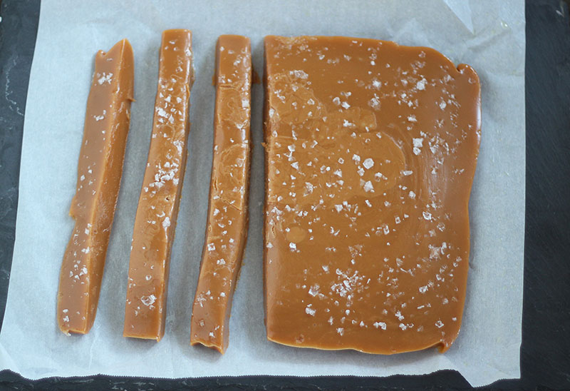 Bourbon Sea Salt Caramels | Plum Pie