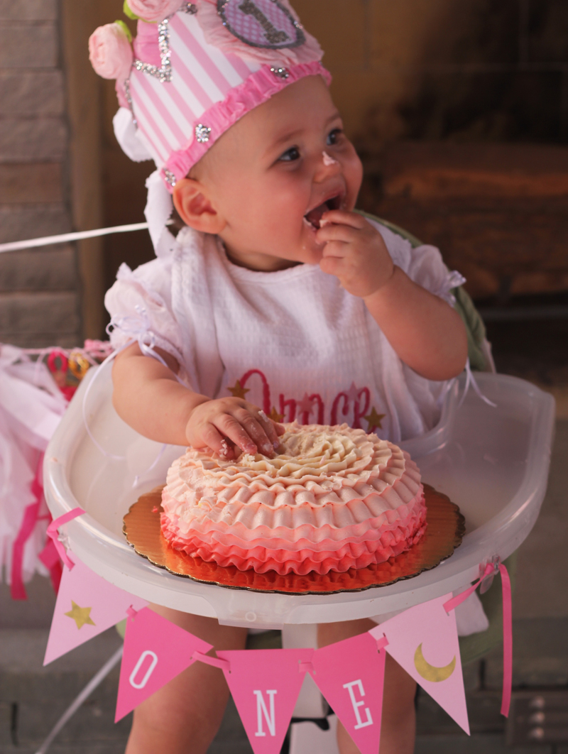 Grace's First Birthday | Plum Pie