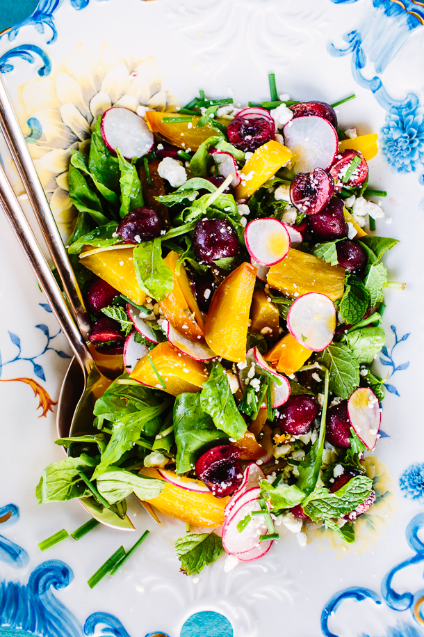 Cherry Golden Beet Salad
