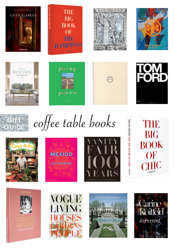 The best coffee table books to give as gifts!