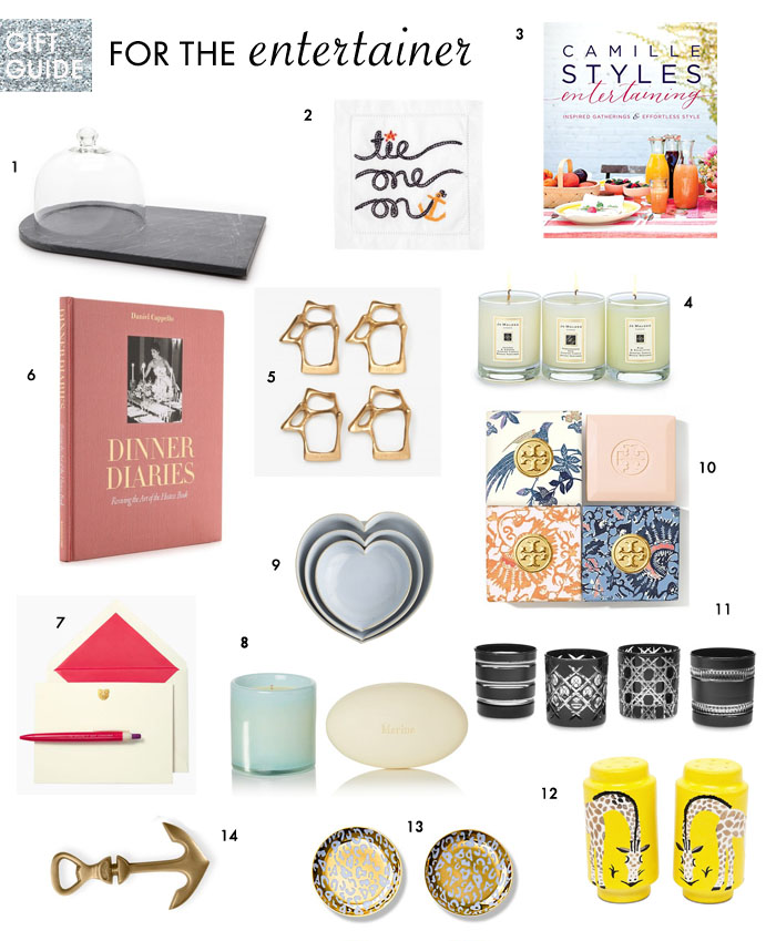 Gift Guide for the Entertainer + Ultimate Hostess | Plum Pie